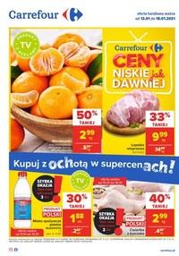 Gazetka promocyjna Carrefour - Niskie ceny jak dawniej w Carrefour