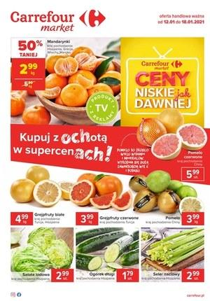 Gazetka promocyjna Carrefour Market - Niskie ceny jak dawniej w Carrefour Market