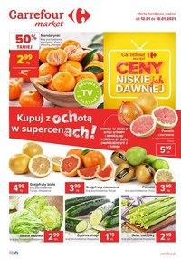 Gazetka promocyjna Carrefour Market - Niskie ceny jak dawniej w Carrefour Market - ważna do 18-01-2021