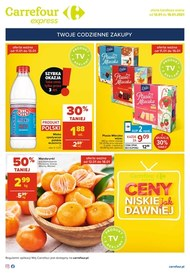 Ceny niskie jak dawniej w Carrefour Express
