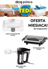 Gazetka promocyjna TEDi - Oferta miesiąca w Tedi!