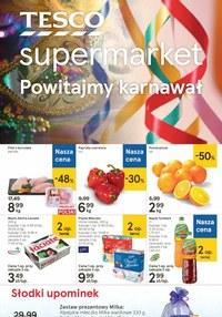 Gazetka promocyjna Tesco Supermarket - Powitamy karnawał z Tesco Supermarket - ważna do 20-01-2021