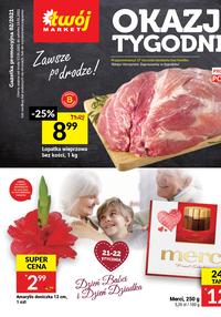 Gazetka promocyjna Twój Market - Okazje tygodnia w Twój Market - ważna do 19-01-2021