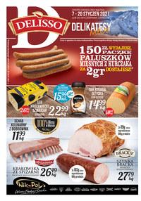 Gazetka promocyjna Delisso - Oferta handlowa Delisso - ważna do 20-01-2021