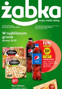Gazetka promocyjna Żabka - W najbliższym gronie - Żabka! - ważna do 19-01-2021