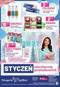 Gazetka promocyjna Drogerie Koliber - Oferta na styczeń - Drogerie Koliber - ważna do 31-01-2021