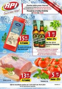 Gazetka promocyjna Api Market - Udane zakupy z Api Market! - ważna do 19-01-2021