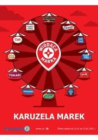 Gazetka promocyjna E.Leclerc - Karuzela Marek w E.Leclerc - ważna do 23-01-2021