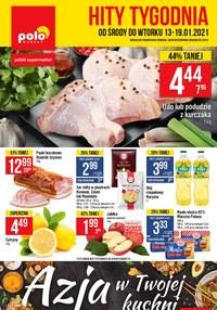 Gazetka promocyjna POLOmarket - Hity Tygodnia w sklepach Polomarket  - ważna do 19-01-2021