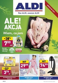 Gazetka promocyjna Aldi - Wiem co jem z Aldi - ważna do 23-01-2021
