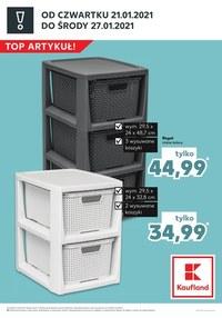 Gazetka promocyjna Kaufland - Top artykuły w Kaufland!   - ważna do 27-01-2021
