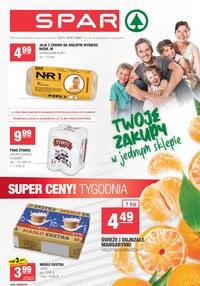 Gazetka promocyjna SPAR - Twoje zakupy w Spar - ważna do 19-01-2021
