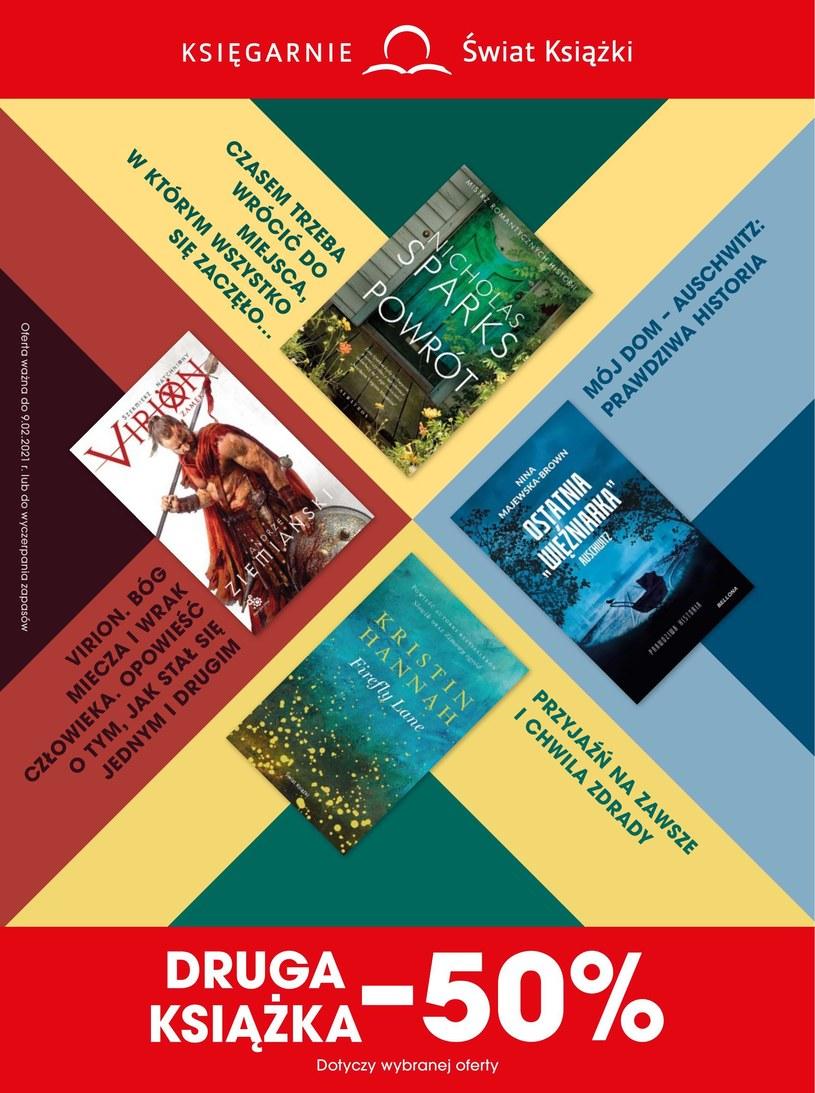 Gazetka promocyjna Księgarnie Świat Książki - wygasła 27 dni temu
