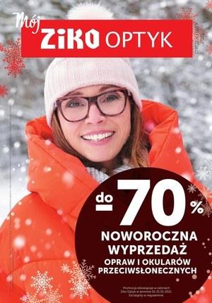 Gazetka promocyjna Ziko Dermo  - Noworczna wyprzedaż w Ziko Dermo