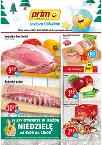 Gazetka promocyjna Prim Market - Taniej w Prim Market - ważna do 20-01-2021
