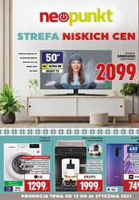 Gazetka promocyjna NEOPUNKT - Strefa niskich cen w NEOPUNKT - ważna do 26-01-2021