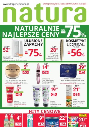 Gazetka promocyjna Drogerie Natura - Naturalnie najlepsze ceny w Drogerii Natura!