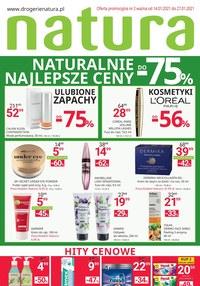 Gazetka promocyjna Drogerie Natura - Naturalnie najlepsze ceny w Drogerii Natura! - ważna do 27-01-2021
