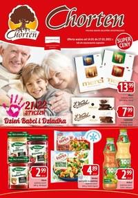 Gazetka promocyjna Chorten - Chorten na Dzień Babci i Dziadka!
