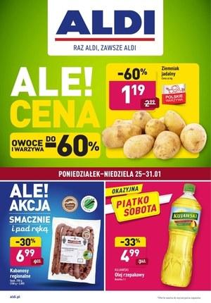 Gazetka promocyjna Aldi - Oferta spożywcza w Aldi