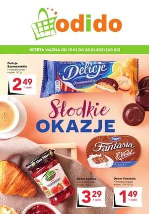 Gazetka promocyjna Odido - Słodkie okazje w Odido