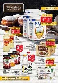 Gazetka promocyjna Spiżarnia Smakosza - Spiżarnia Smakosza - oferta handlowa - ważna do 27-01-2021