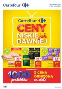 Gazetka promocyjna Carrefour - Niskie ceny w Carrefour - ważna do 31-01-2021