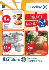 Gazetka promocyjna E.Leclerc - Produkty na wagę w E.Leclerc Ostrowiec Świętokrzyski  - ważna do 31-01-2021