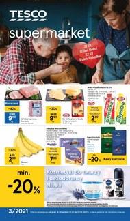 Okazje na dzień babci i dziadka w Tesco Supermarket