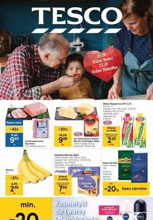 Gazetka promocyjna Tesco Centra Handlowe - Okazje na dzień babci i dziadka w Tesco