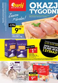 Gazetka promocyjna Twój Market - Oszczędzaj kupując z apką w Twój Market! - ważna do 26-01-2021
