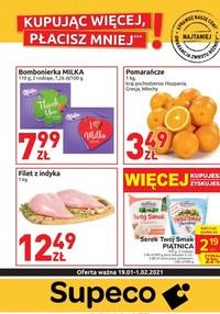 Gazetka promocyjna Supeco - Zapłać mniej w Supeco - ważna do 01-02-2021