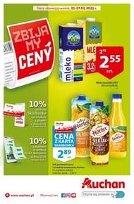 Ceny jak sprzed 5 lat w Auchan!
