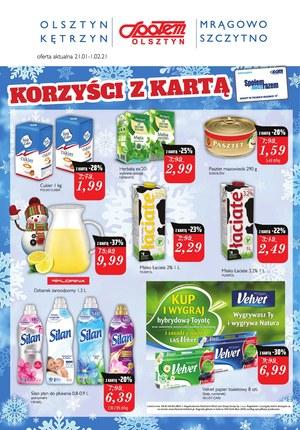 Gazetka promocyjna Społem Olsztyn - Super ceny w Społem Olsztyn