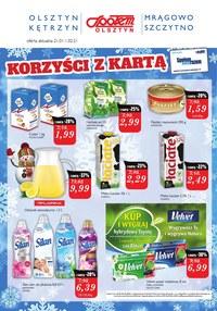 Gazetka promocyjna Społem Olsztyn - Super ceny w Społem Olsztyn - ważna do 01-02-2021