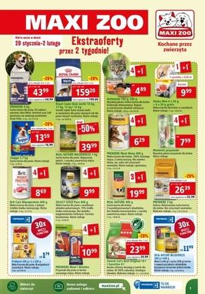 Gazetka promocyjna Maxi ZOO - Ekstra oferty w Maxi Zoo