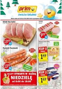Gazetka promocyjna Prim Market - Świeżo i tanio w Prim Market! - ważna do 27-01-2021