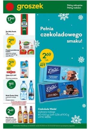 Gazetka promocyjna Groszek  - Groszek - pełny zakupów, pełny radości