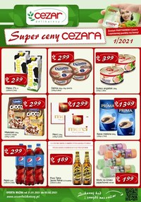 Gazetka promocyjna Delikatesy CEZAR - Promocje w Delikatesach Cezar - ważna do 03-02-2021