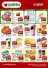 Gazetka promocyjna MALINKA Market - Promocje w sklepach Malinka Market