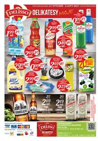 Gazetka promocyjna Delisso - Super okazje w sklepach Delisso