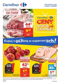 Gazetka promocyjna Carrefour - Carrefour - niskie ceny!
