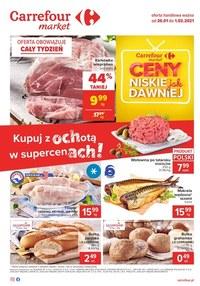 Gazetka promocyjna Carrefour Market - Super ceny w Carrefour Market!