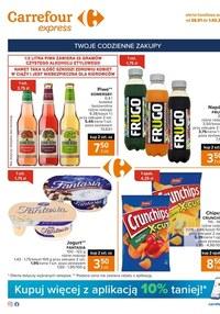 Gazetka promocyjna Carrefour Express - Tanie zakupy w Carrefour Express