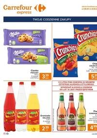 Gazetka promocyjna Carrefour Express - Okazje Carrefour Express