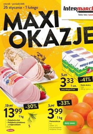 Gazetka promocyjna Intermarche Super - Jeszcze taniej w Intermarche