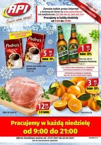Gazetka promocyjna Api Market - Cudowne zakupy z Api Market - ważna do 02-02-2021