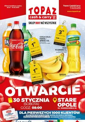 Gazetka promocyjna Topaz - Topaz - Otwarcie w Starym Opolu