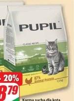 Karma dla kota Pupil