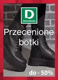 Zimowe botki w przecenie w Deichmannie